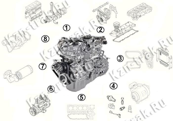 Двигатель ISUZU 6HK1-XYSJ01